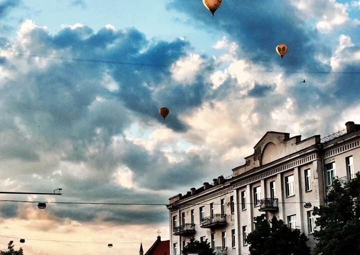 Vilnius two ways ..