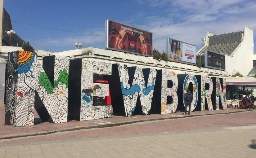 On the bus to Prishtina,Kosovo
